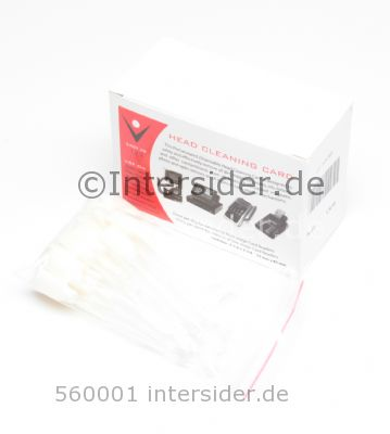 Intersider Cleaning Set (25 Swabs 50 cards)